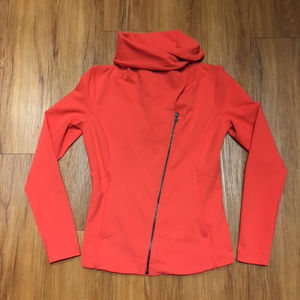 Lucy Red Fitted Running Jacket